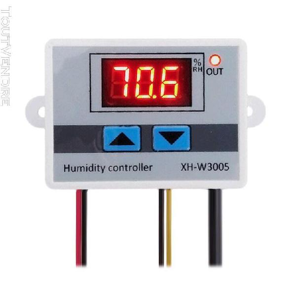 Contrôle de régulateur d'humidité de l'air numérique