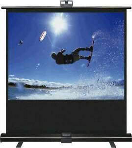 Ecran de projection sol screen up pull up 51003 version 4/3