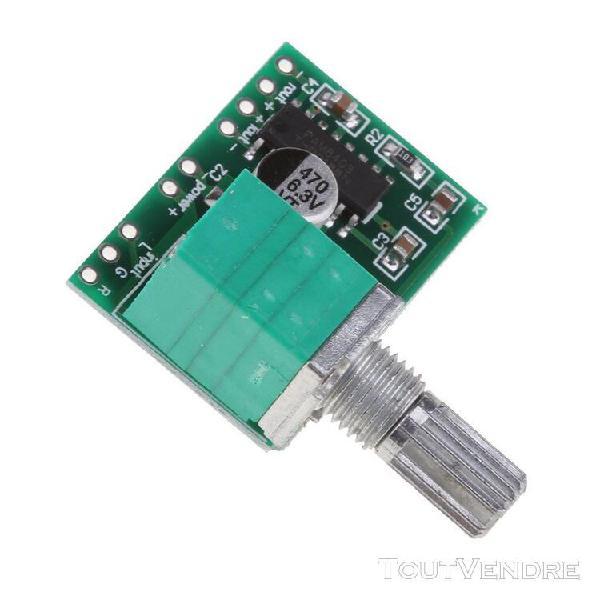 Module amplificateur numérique audio stéréo pam8403 mini