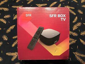 Sfr box tv 4k hdr neuve sous emballage jamais utilisé
