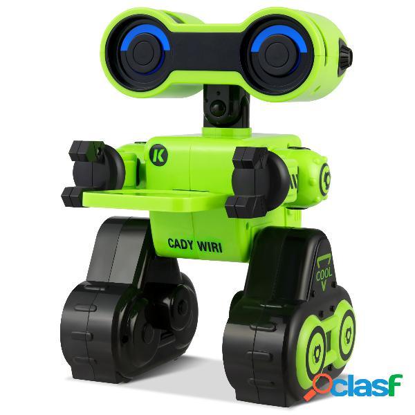 Costway robot jouet télécommandé pour enfants 16 x 17 x 24cm vert