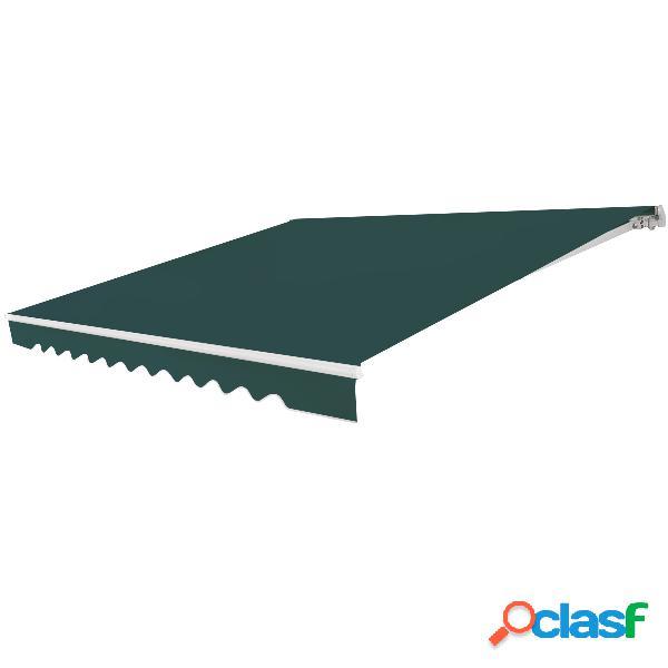 auvent rétractable manuel 400 cm bleublanc store banne de
