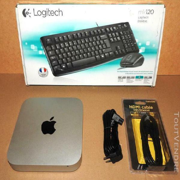 Apple mac mini 2014 hdd 1 to intel i5 2.6ghz os mojave 8go a