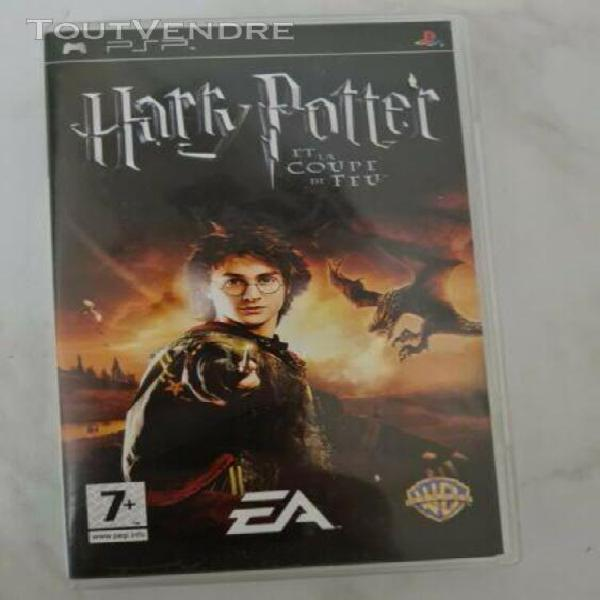 Harry potter et la coupe de feu sur playstation portable - p