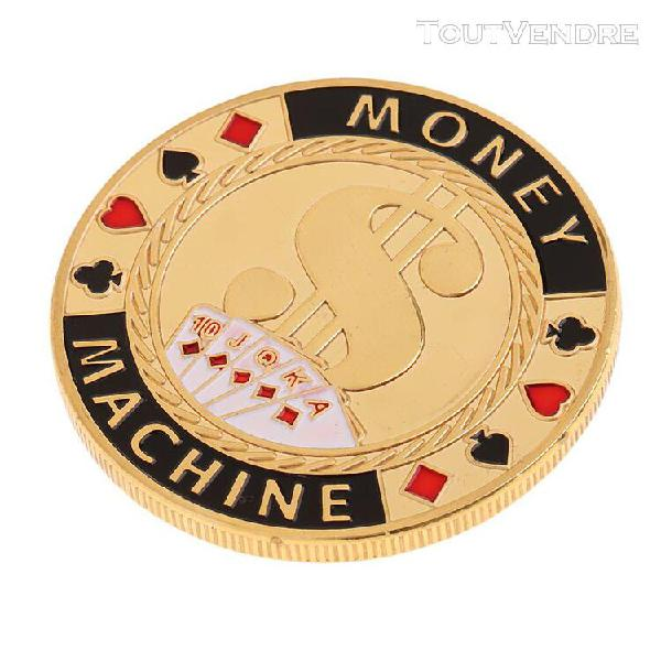 Jetons de poker jeu dealer chips texas hold'em en métal