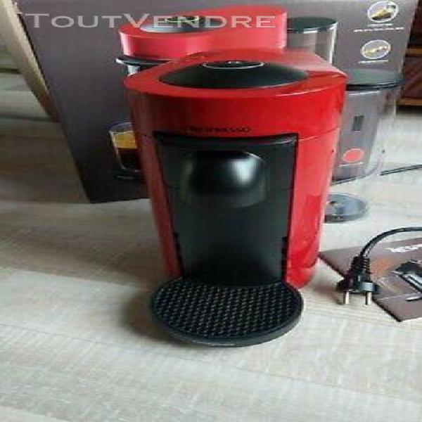 Nespresso vertuo plus machine café magimix rouge/jpj27