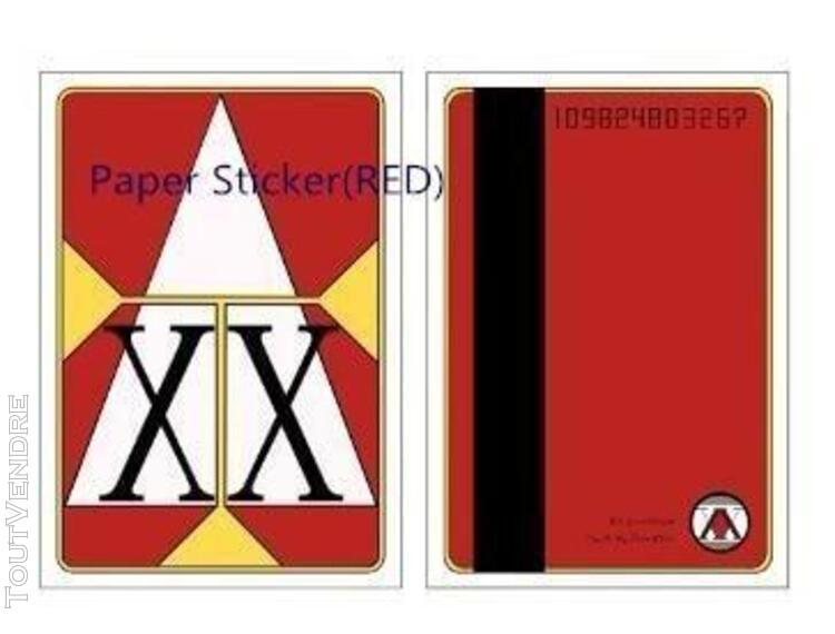 Papier autocollant rouge] hunter x hunter license card ging