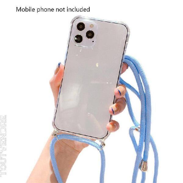 Transparent téléphone coque de protection tpu téléphone