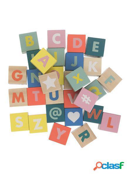 Hema blocs alphabet en bois