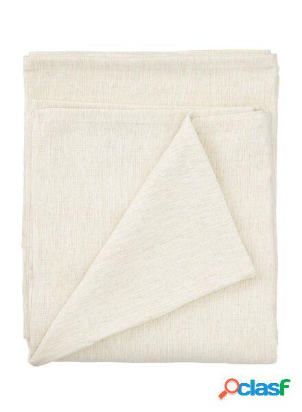 Hema nappe coton chambray 140x240 - beige/doré (doré)
