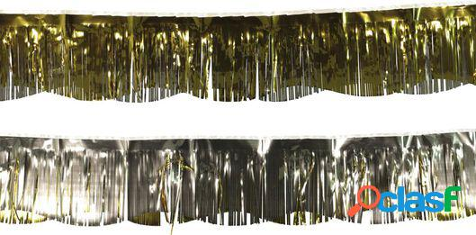 Hema guirlande alu - or/argent - 3.5 mètres
