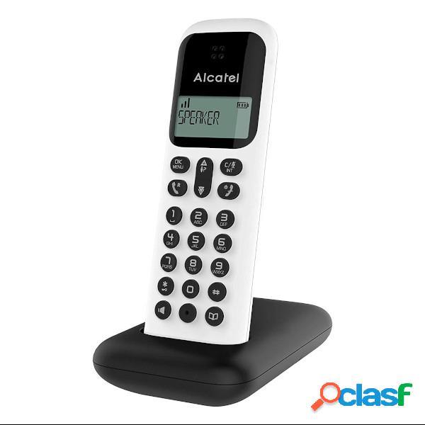 Téléphone sans fil dect alcatel d285 blanc (white)