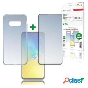 Kit de protection samsung galaxy s10e 4smarts 360 premium - noir