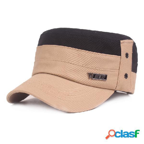 Casquette militaire en coton à capuchon militaire pour femmes en plein air avec chapeau d'ombrage respirant