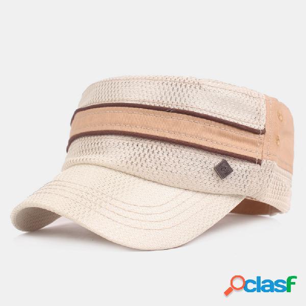 Casquette militaire pour hommes casquette militaire shade net respirant chapeau d'escalade en plein air