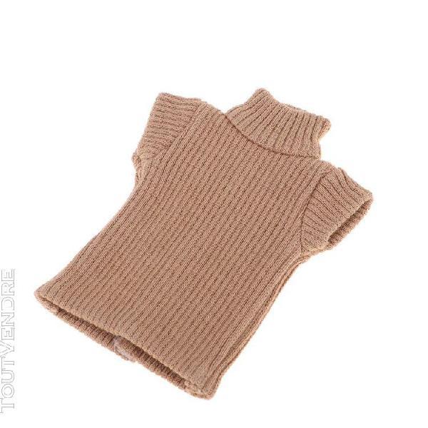 Gilet chandail tricoté manches courtes pour blythe jouet
