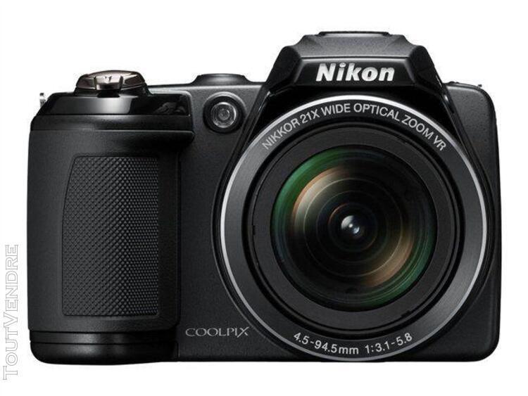 Nikon coolpix l310 bridge numérique 14.1 mpix noir