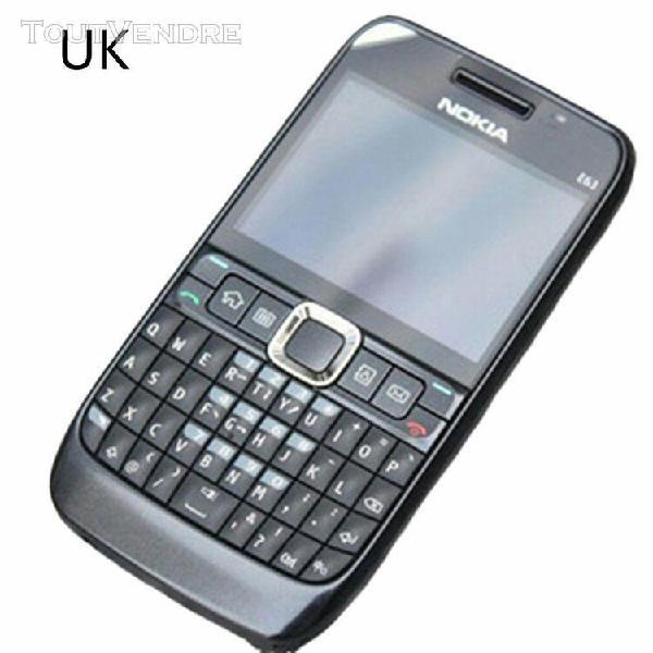 Téléphone portable pour nokia e63 clavier complet métal