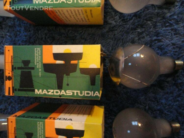 Lot d'ampoules 220v 500w projecteur cinéma collection