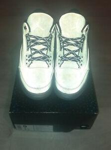 Nike air jordan 3 black 5lab3 black/noir 2014 9us 8uk 42.5eu