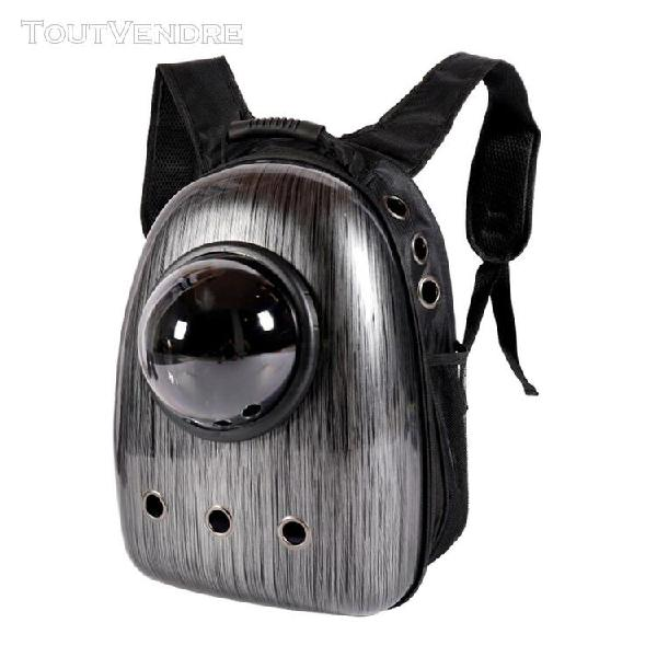 Pet carrier, perroquet chiens chats voyage sac capsule spati