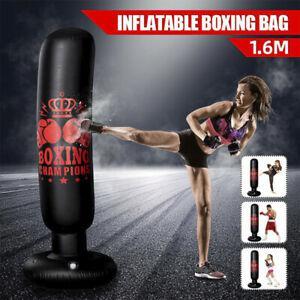 Sports d'intérieur sac de boxe pied piédestal sacs