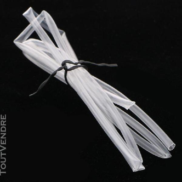 Transparent transparent thermorétractable tube wrap câble