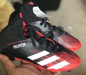 Adidas predator 20.3 fg kids soccer cleats brand new! size