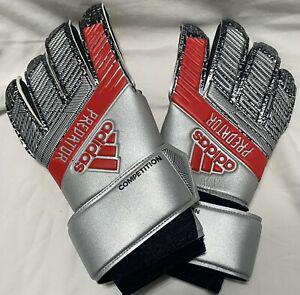 Adidas predator competition soccer goalkeeper gloves. size:
