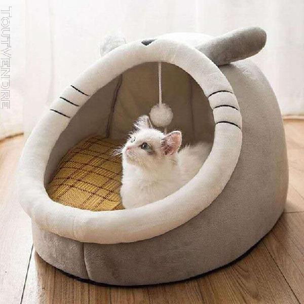 Chat chien lit maison chiot chaton chenil lit chat lit cage