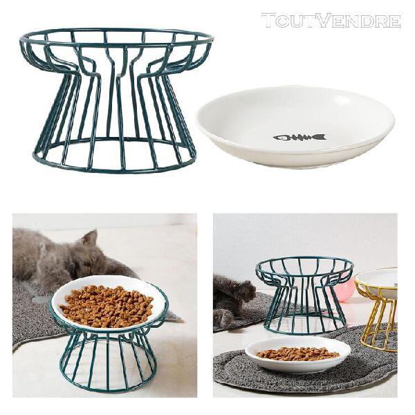Mangeoire surélevée pour petit chien chat support de bol