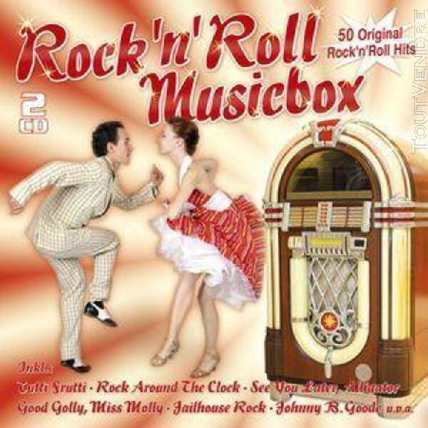 Rock'n'roll musicbox - 50 original hits