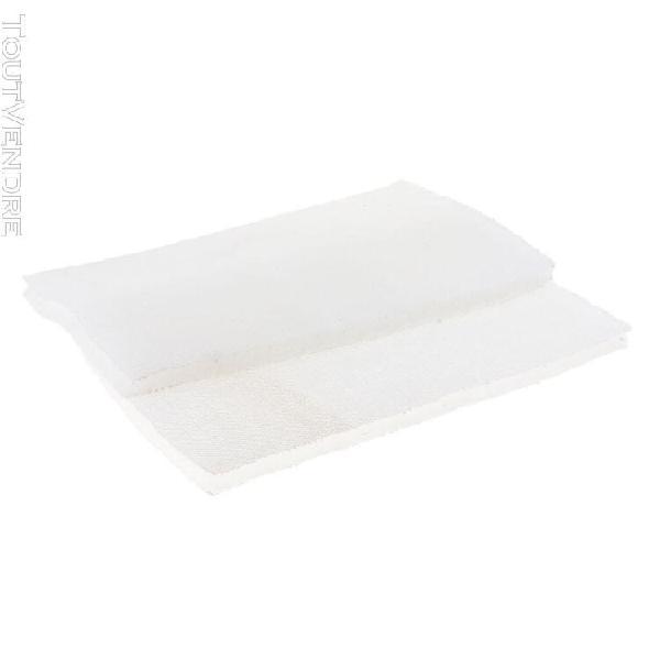 2pcs filtre mousse eponge mousse filtrante biochimique tampo