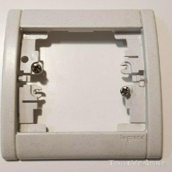 85067 Plaque double horizontale Silex Sable SAGANE LEGRAND  850 67
