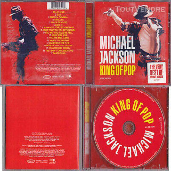 Michael jackson cd king of pop the very best of compilation