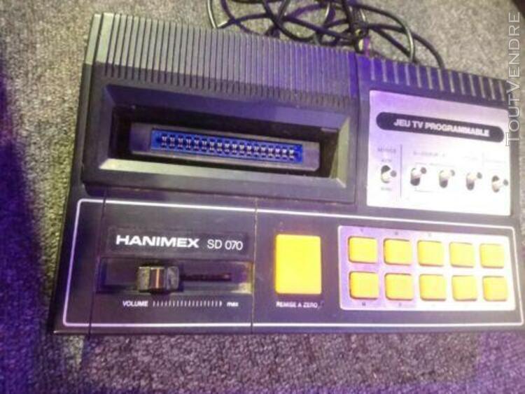 Ancienne console de jeux vidéo tv programmable hanimex sd
