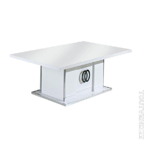 Aglae - ensemble salon avec table basse rectangulaire