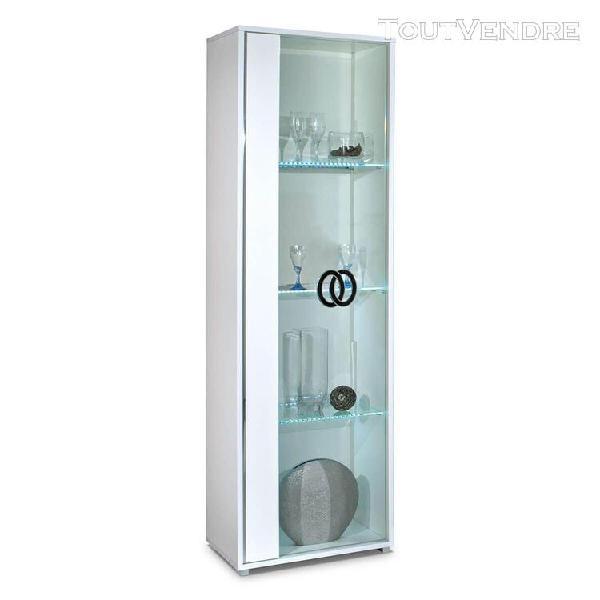 Aglae - vitrine gauche 1 porte avec eclairage led