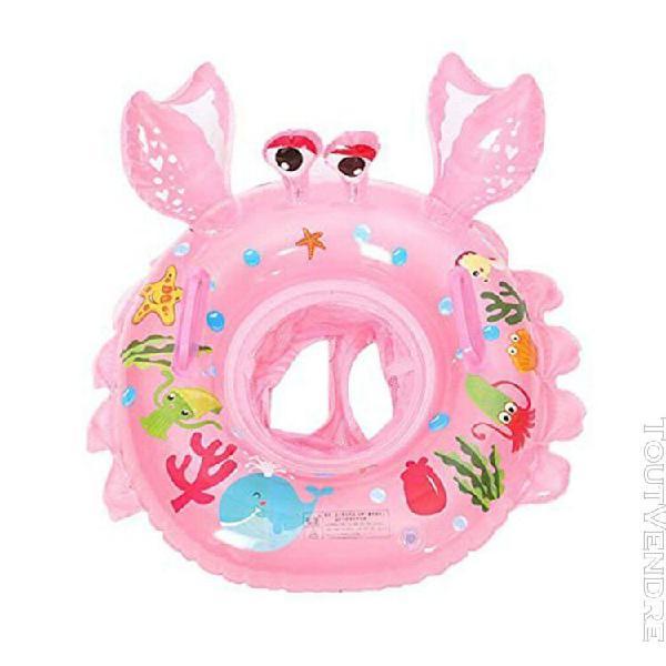 Bébé étrille anneau gonflable piscine flotteur anneau pvc