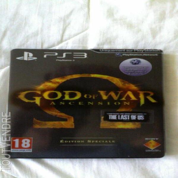 """Jeux ps3 """" god of war ascension """""""