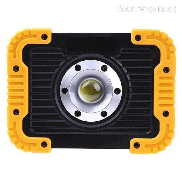 Lampe led extérieure ronde led jaune tente portable