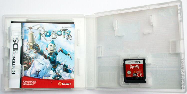 Robots jeu nintendo ds/2ds/3ds, complet avec notice, très