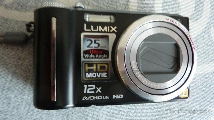 Appareil photo compact panasonic lumix dmc-tz7 trés bon