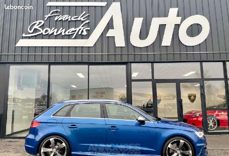 Audi s3 2.0 tfsi 300 ch quattro s-tronic / française / bang