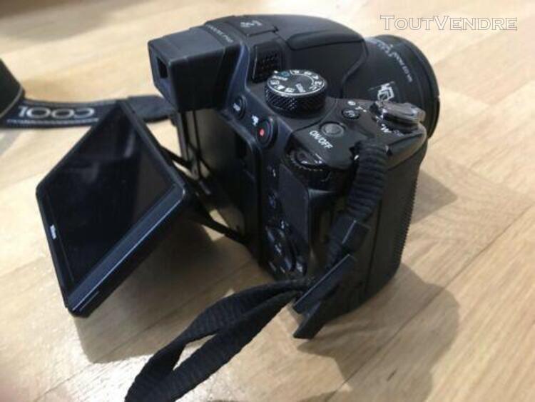 Nikon coolpix p510 bridge numerique 16.1 mpix - noir