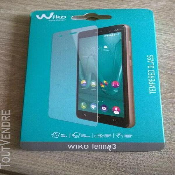 Accessoire telephone portable - wiko lenny 3 protection ecra
