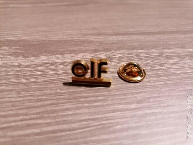 Elf (publicitaire garage auto moto huile oil pin's bidon mi