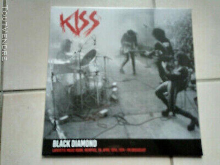 Kiss black diamond lp live lafayette music room memphis 74 l