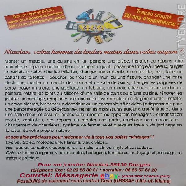Services a la personne-factotum contrat c.e.s.u.-bricolage,r
