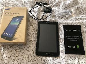 Tablette neuve samsung galaxy tab 3 8 go, wi-fi, 178mm (7.0)